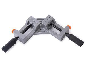 Quick release corner clamp