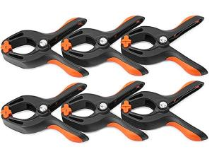 6 pc Spring Clamp Set
